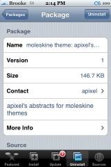 New moleskine Theme - Apixel\'s Abstract