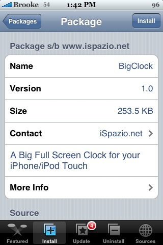 BigClock 1.0 & 1.1.1