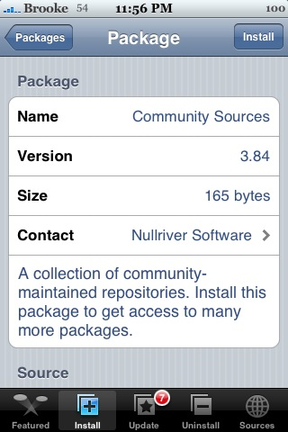 Community Sources 3.84