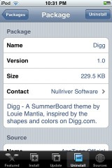 Custom Digg Theme