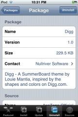 Custom Digg Theme
