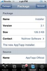Installer 3.1