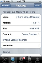 iPhone Video Recorder 1.2.4.1