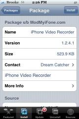 iPhone Video Recorder 1.2.4.1