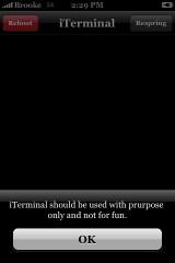 iTerminal 1.0