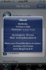 MyMedia 0.89