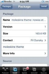 New Moleskine Theme - Nowea Ethno