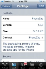 PhoneZap 1.2.3