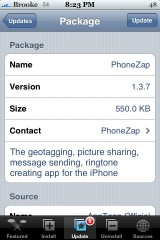 PhoneZap 1.3.7