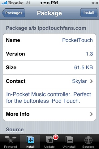 PocketTouch 1.3