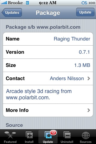 Raging Thunder 0.7.1
