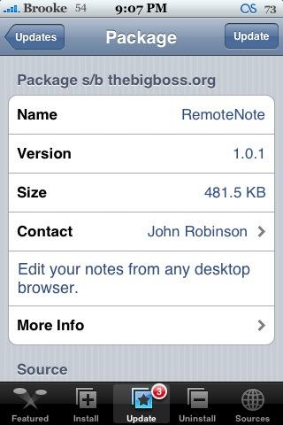 RemoteNote 1.0.1