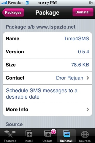 Time4SMS 0.5.4