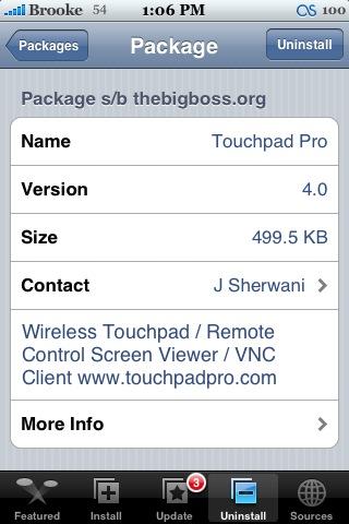 Touchpad Pro 4.0