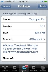 Touchpad Pro 4.11