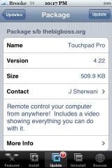 Touchpad Pro 4.22