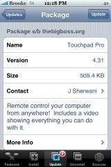 Touchpad Pro 4.31