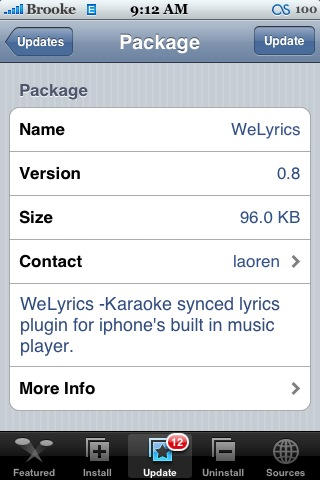 WeLyrics 0.8