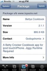 Bettys Cookbook 2.1.1