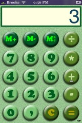 Calculator Skin - Green