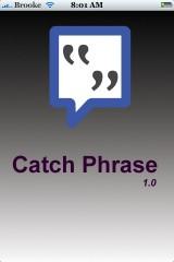 CatchPhrase 1.0.0