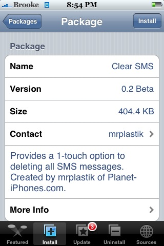 Clear SMS 0.2Beta