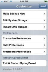 Customize with Freeboard