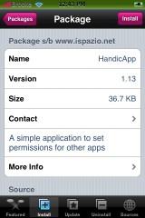 HandicApp 1.13