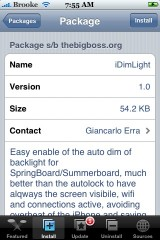 iDimLight 1.0