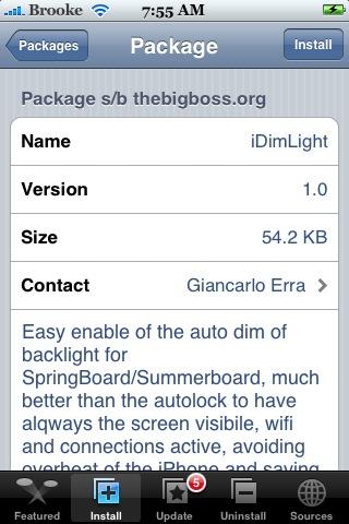 iDimLight 1.0