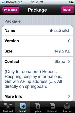 iFastSwitch 1.0