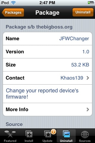 JFWChanger 1.0