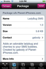 LadyBug SMS Mod