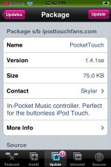 PocketTouch 1.4.1se