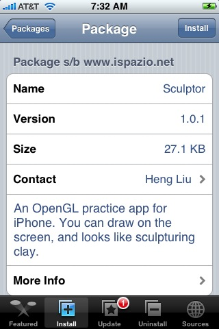 Sculptor 1.0.1