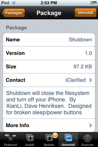 Shutdown 1.0