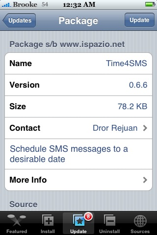 Time4SMS 0.6.6