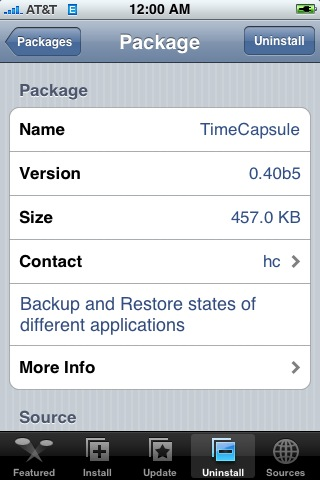 TimeCapsule 0.40b1 – 0.40b5
