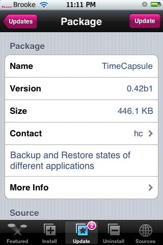 TimeCapsule 0.42b1