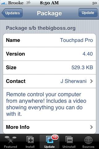 Touchpad Pro 4.40