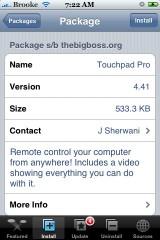 Touchpad Pro 4.41