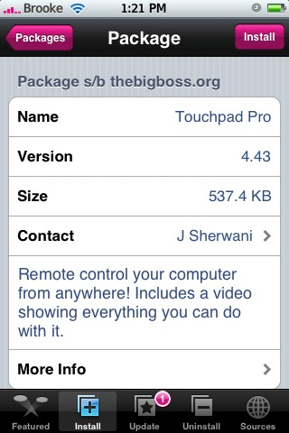 TouchPad Pro 4.43