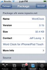 WordClock 0.1b