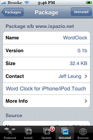 WordClock 0.1b
