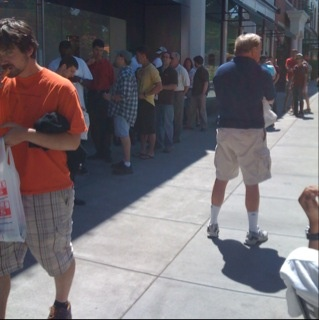 Still Lines for the iPhone 3G