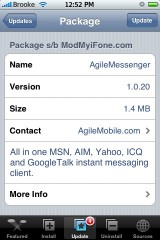 AgileMessenger 1.0.20