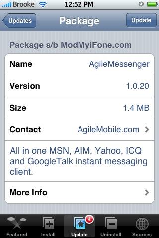 AgileMessenger 1.0.20