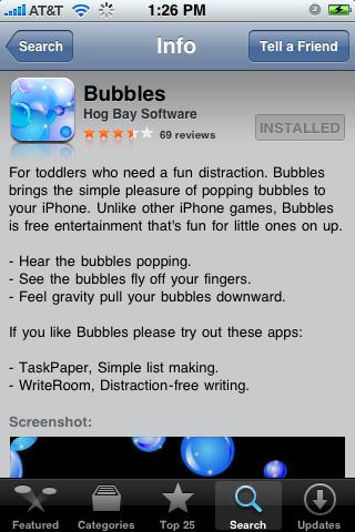 Bubbles 1.0