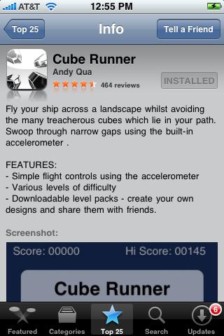 Cube Runner 1.0