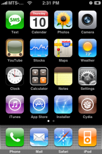 iPhone 3G and Firmware 2.0 Jailbroke